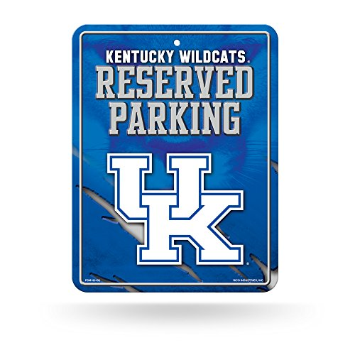 (Rico Industries NCAA Kentucky Wildcats High-Res Metal Parking Sign)