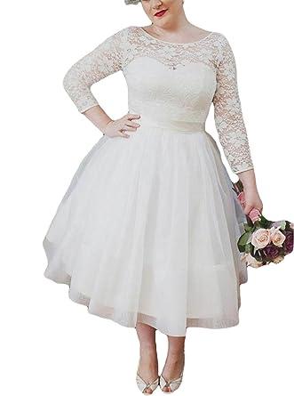 VikDressy Women\u0027s 1950\u0027s Style Vintage A,Line Lace Wedding