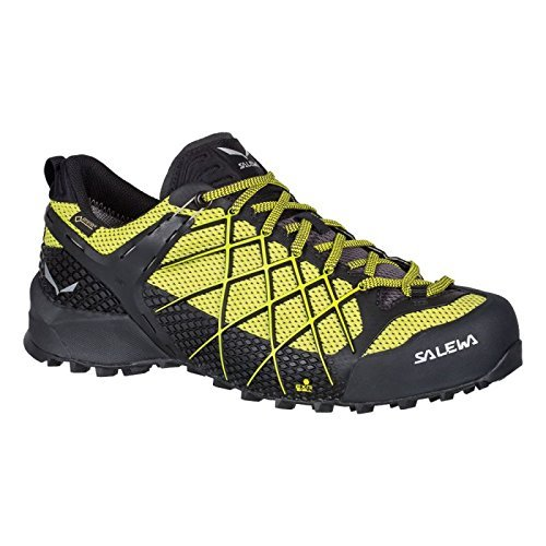 Salewa Men's Wildfire GTX, Black Out/Mimosa, 9 M (Wildfire Shoes)