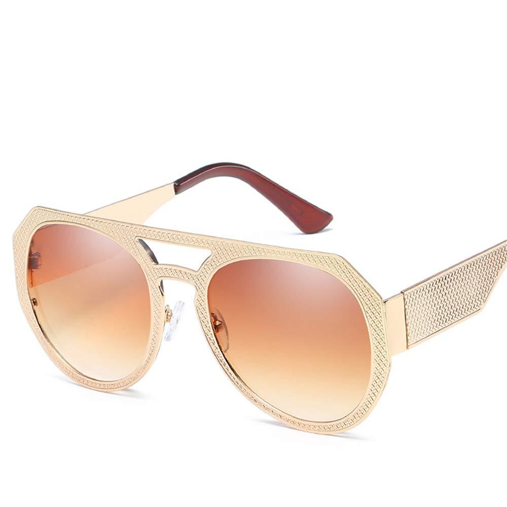 DURIAN MANGO Gafas de Sol de Moda para Hombre y Mujer,Brown ...