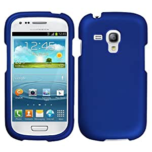 MYBAT Titanium Solid Dark Blue Phone Protector Cover for SAMSUNG i8190 (Galaxy S III mini)