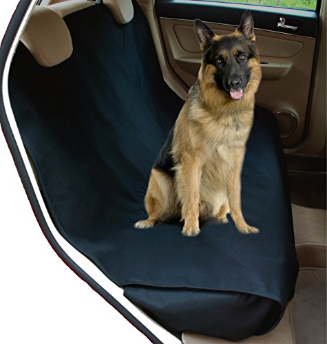 NAC&ZAC Waterproof X-large Bench Pet Seat Cover for Trucks and PickUps with Seat Anchors, Nonslip, Extra Side Flaps, Machine Washable Barrier Dog Seat Cover,