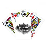 Vatican Italy Landmark Ink City Poker Playing Cards Tabletop Game Gift