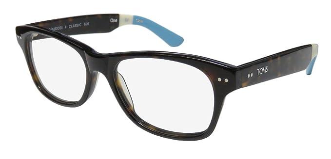 260e78d40f4c Toms Nairobi Classic 601 Mens Womens Designer Full-rim Plastic Temples Hot  Eyeglasses