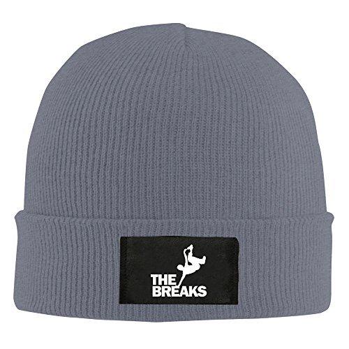 0438fe041f7 Amazon.com  Break Dance Men Women Hip-hop Hat Printed Beanie Knitted Cap  Asphalt (6700064235489)  Books