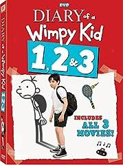Diary of a Wimpy Kid 1, 2, & 3 DVD Zachary Gordon