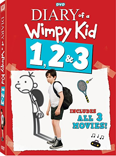 Diary Of A Wimpy Kid 1-3 Triple Feature
