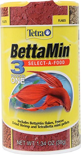 Tetra BettaMin Select-A-Food (1 Can), 1.3 oz