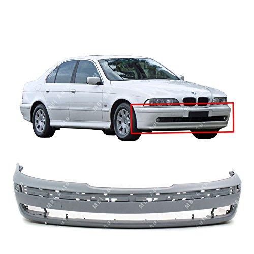 Bmw New Front Bumper Cover - MBI AUTO Primered, Front Bumper Cover Fascia for 1997-2000 BMW 5 Series 528i 540i E39 97-00, BM1000122