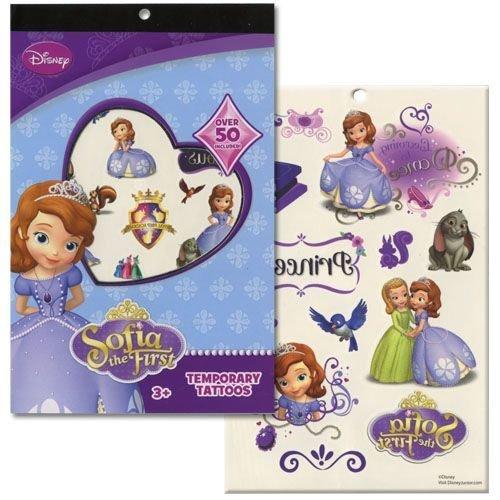 Disneys Temporary Tattoo Book Party Accessory (Sofia The First)]()