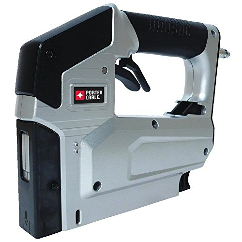 Factory Reconditioned PORTER CABLE TS056R Heavy Duty 3/8 inch Crown Stapler & Brad Nailer 2-in-1