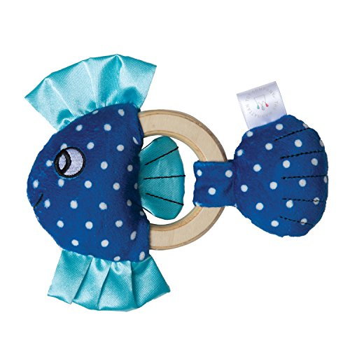 Manhattan Toy Squeaker Fish & Baby Teether