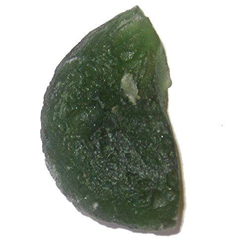 SatinCrystals Meteorite Moldavite Specimen 1.1