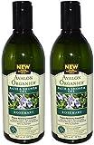 Avalon Organics Bath & Shower Gel, Rosemary, 12-Ounces (Set of 2)