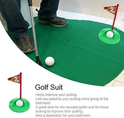 Pleasing Amazon Com Lamijua 1 Set Mini Golf Package Mat Toilet Evergreenethics Interior Chair Design Evergreenethicsorg