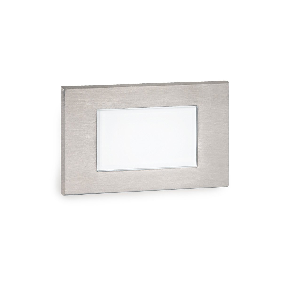 WAC Lighting 4071-AMSS Wac Landscape LED Low Voltage Diffused Step and Wall Light Amber, Stainless Steel