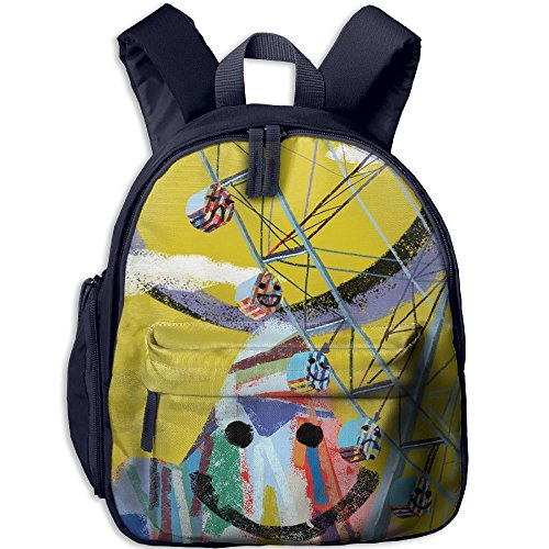 Ferris Wheel Day Hot Sale Child Shoulder School Bag School Backpack School Daypack For Teens Boys Girls Students (India National Costume Men And Women)