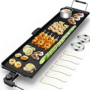 "Amazon.com: Costzon 35"" Electric Teppanyaki Table Top"