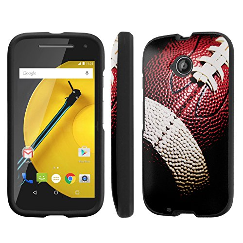 NakedShield Motorola Moto E LTE (2nd Generation, 2015) (Football) Total Hard Armor LifeStyle Phone Case by Unknown
