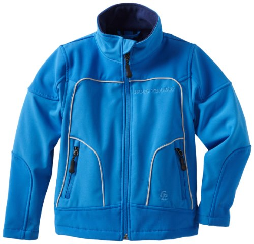 Urban Republic Little Boys' Little Boy 2177 Soft Shell Jacket, Medium Blue, 4