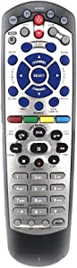 Sannkaku New Replaced Remote Control for Dish 20.1 Network Dish-Network IR Satellite Receiver Device Code TV DVD W/SAT Models VIP 622, 722, 222, 522, 625, 942, 201, 211, 301, 311, 322, 351, 1000, 22