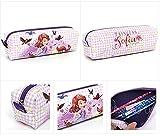 Disney Little Princess Sofia Kid Children Flower Soft Pencil Case 922022