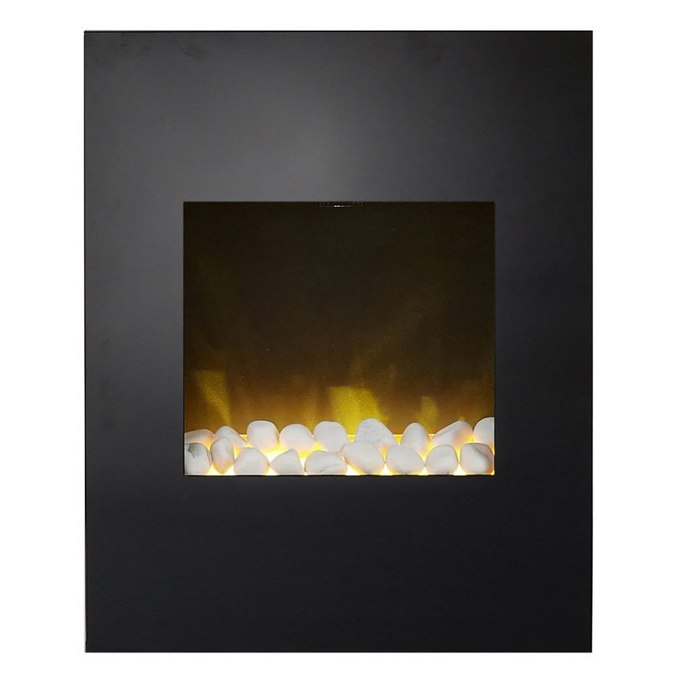 Alexis black wall hanging electric fire adam amazon alexis black wall hanging electric fire adam amazon kitchen home amipublicfo Images