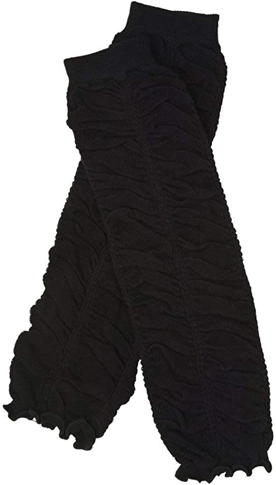 Ruffle Baby Leg Warmers in Various Colors by juDanzy for Girls, Toddler, Child (Black)