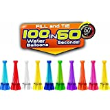 Bunch O Balloons – Instant Water Balloons, (350 Balloons & HUGE BOWL, Multi Color)