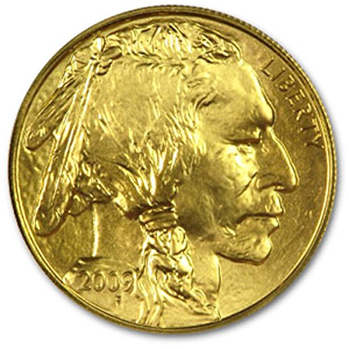 2009 American Gold Buffalo Coins $50 Brilliant Uncirculated US Mint