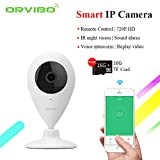 ORVIBO smart WIFI IP Camera Wireless WIFI HD 720P Infrared Night Vision home automation system Security Webcam Ants mini Camera