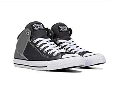 040602c862a0 Converse CTAS HIGH Street HI Storm Grey Black White 154841C UK 9 42.5EU   Amazon.co.uk  Shoes   Bags