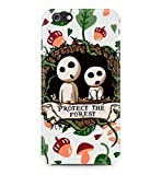 Princess Mononoke Protect The Forest Hard Plastic Snap-On Case Cover For iPhone 6 Plus / iPhone 6s Plus