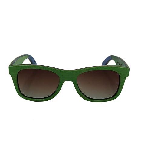 Footprintse Marco de Madera clásico Unisex Popular Gafas de ...