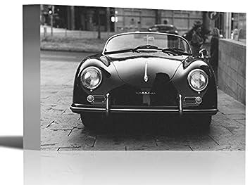 Amazon Com Porsche Convertible Vintage Vehicle Car Art Print Wall