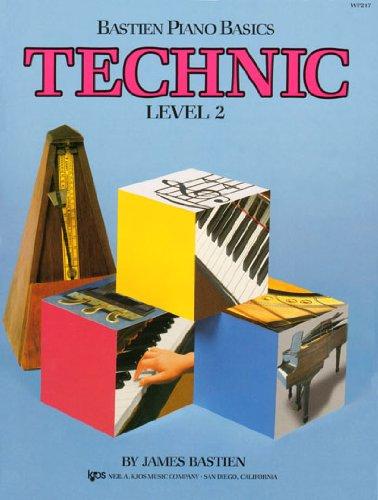 Bastien Piano Basics Technic Books - 6