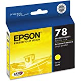 Epson Claria Hi-Definition 78 Standard-capacity Inkjet Cartridge Yellow T078420