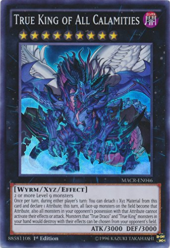 True King of All Calamities - MACR-EN046 - Super Rare - 1st Edition - Maximum Crisis (1st Edition) (Best Banned Yugioh Deck)