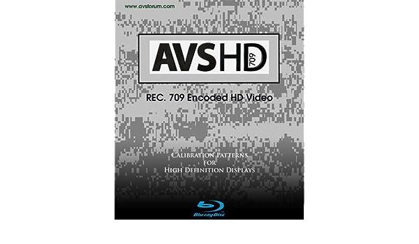AVS HD 709 Blu-ray Disc Calibration Patterns AVS Forum