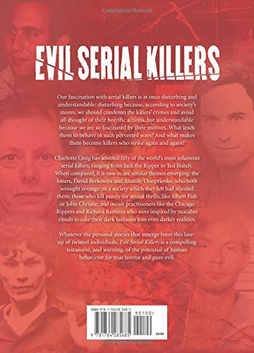 Evil Serial Killers Charlotte Greig 9781784285685 Amazon Books
