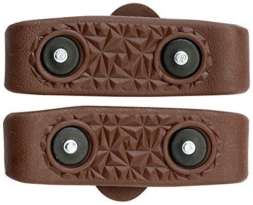(Nordic Grip Mini Ice Grippers - Large Brown )
