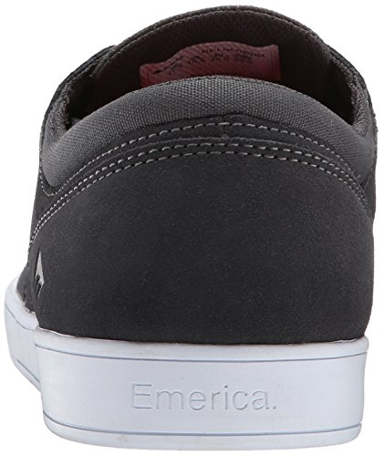 Uomo Figueroa gum Grey Skateboard Scarpe white Da The Emerica P7w4qFP