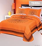 Terra Bedspread Set - 3 Piece Set, Simple and Striking (Queen)