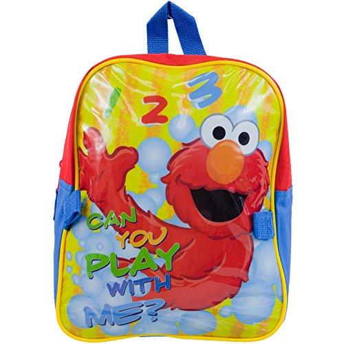 Sesame Street Toddler Backpack Detachable