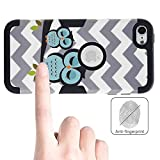 iPod Touch 6 Case , iPod Touch 5 Case, Alkax [Slim Fit][Heavy Duty] Rugged Impact Resistant Protective Cover Bumper for Apple iPod Touch 5 6th Generation + Stylus Pen (Black)