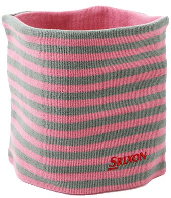 【レディース】ダンロップ スリクソン ネックウォーマー SLG4565 ピンク [DUNLOP SRIXON 女性用 防寒]