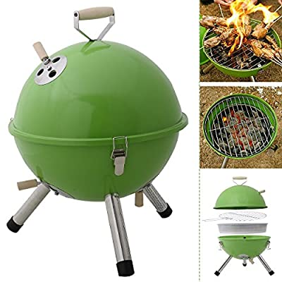 Safstar Mini BBQ Stove Barbecue Oven Charcoal Grill Picnic Cookware Patio Camping