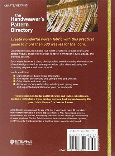 The Handweaver's Pattern Directory