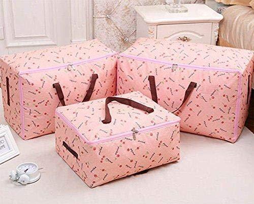 beige duradera el /ático Depory -bolsa de almacenamiento para mudanzas para el hogar la bolsa de equipaje de viaje la colcha reciclada para la colada