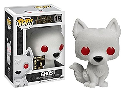 SDCC 2014 Exclusive Game of Thrones Flocked Ghost POP! Vinyl Figure by Funko (Image #1)